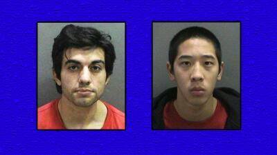 Hossein Nayeri (i) y Jonathan Tieu (d), fugitivos de la cárcel de Santa Ana