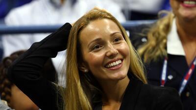Jelena, el bello 'amuleto' de Novak Djokovic en el tenis mundial