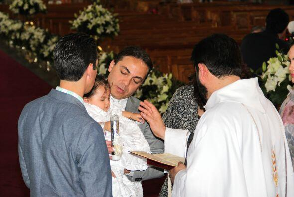 La misa fue de lo más emotiva.