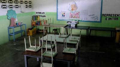 La crisis en Venezuela deja las aulas vacías en el inicio del nuevo periodo escolar