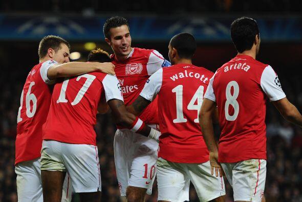El triunfo quedó en manos del Arsenal por 2-0 y así asegurarse el primer...
