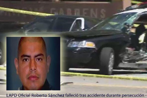 La muerte de  Roberto Sánchez (32 años) se suma a la lista de oficiales...