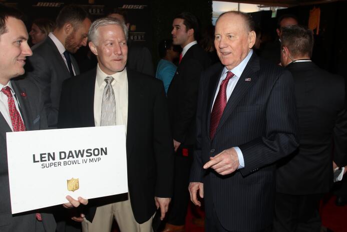 Las personalidades más importantes de la NFL se dieron cita en Santa Cla...