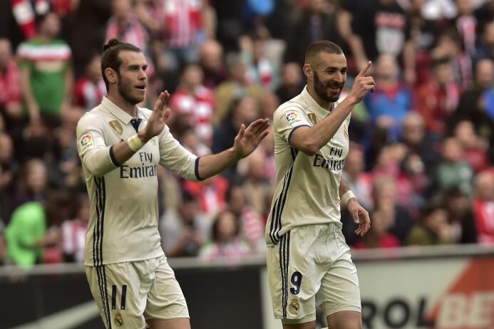 Los 10 máximos artilleros en la racha de Real Madrid de 73 partidos marc...