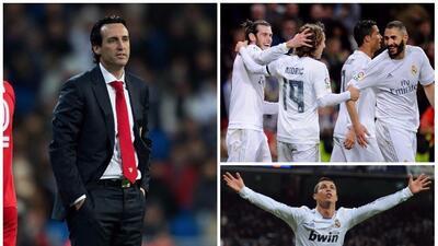 Unai Emery nunca ha ganado en el Santiago Bernabéu ¿Podrá hacerlo con el PSG?