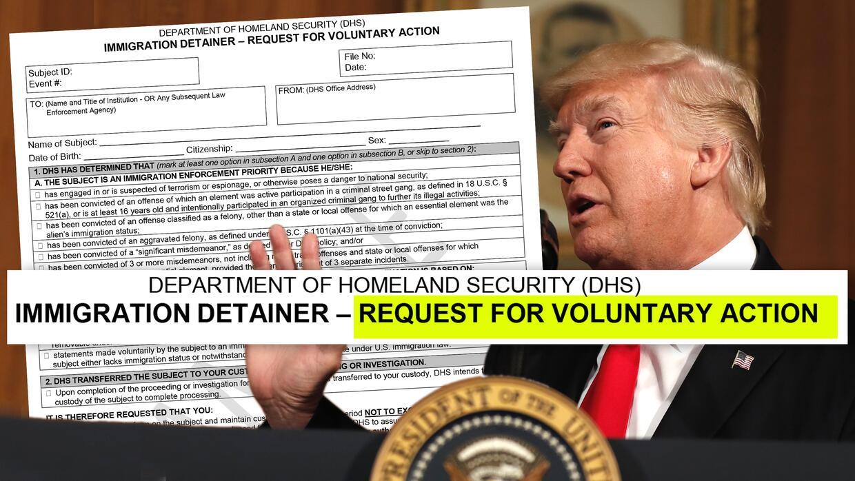 La administración de Trump asegura que las cárceles están obligadas por...