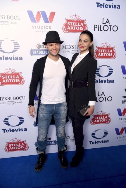 Livia Brito y su novio Said 'El Caballero'