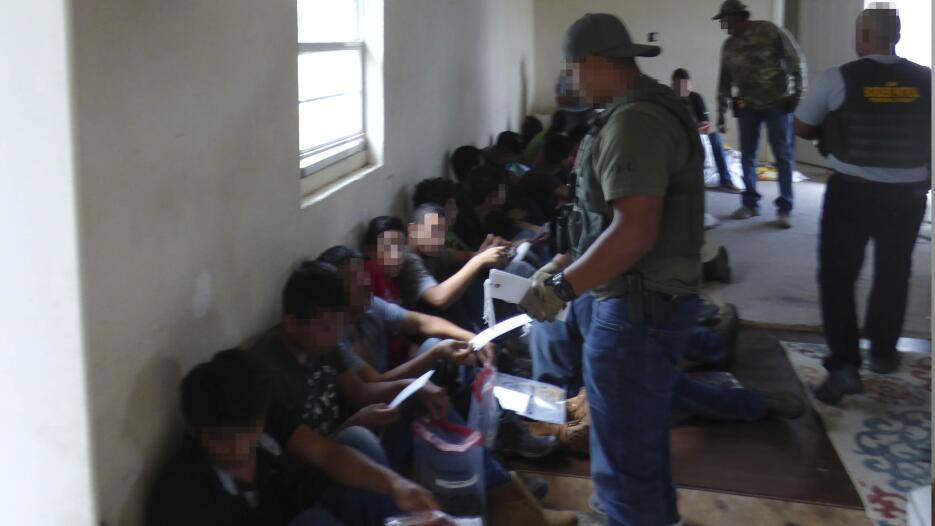 La Agencia de Aduanas y Seguridad Fronteriza (CBP) informó del hallazgo...