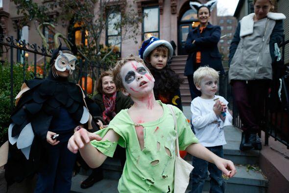 Los zombis tampoco van a faltar en este Halloween y lo mejor es que no n...