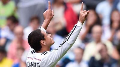 El delantero mexicano ocupa el tercer puesto de la lista de anotadores e...