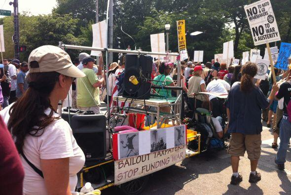 Cumbre de la OTAN protesta Grant Park