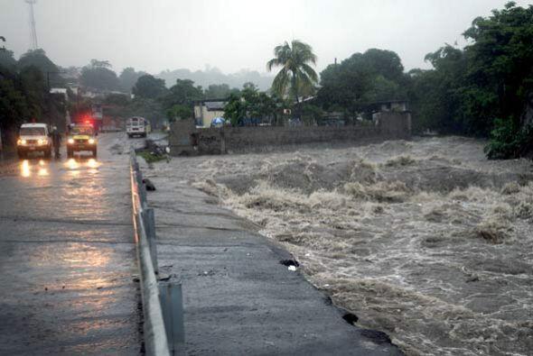 En Nicaragua el ciclón dejó cinco víctimas mortales además de varias vía...