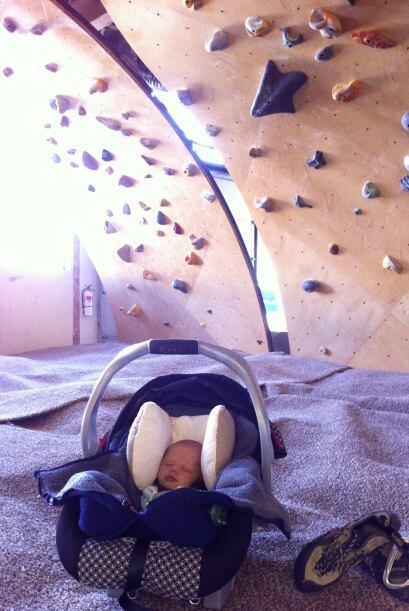 Su primera aventura fue cuando apenas tenía cinco días de nacido