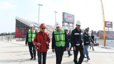 Anuncian juegos de Grandes Ligas en el nuevo estadio de Diablos Rojos en Ciudad de México