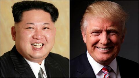 Donald Trump dice que se sentiría honrado de reunirse con Kim Jong-un y...