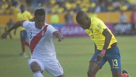 Perú consiguió dos goles en cinco minutos y luego se defen...