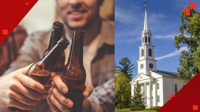 La iglesia que anima a sus seguidores emborracharse y bautizarse con cerveza