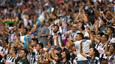 Afición de Rayados de Monterrey.