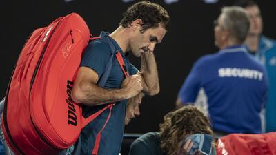 ¡Habrá nuevo campeón! Tsitsipas eliminó a Roger Federer en Australia