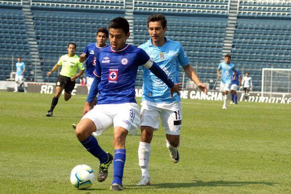 En la gestión de Guillermo Vázquez como entrenador de Cruz Azul el equip...