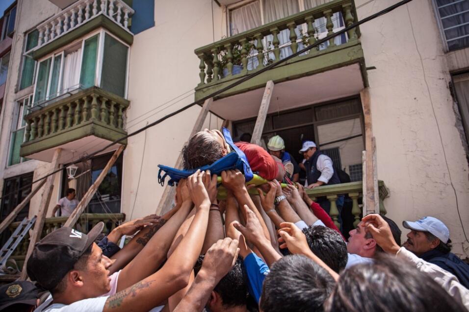 Solidaridad por terremoto en México
