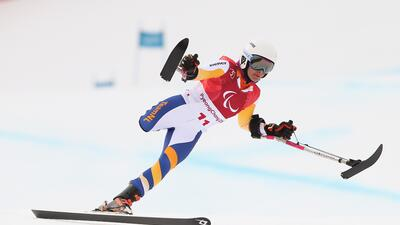 Para aplaudir: así practican los atletas con capacidades diferentes en los Paralímpicos de Invierno