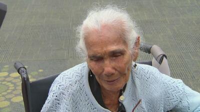 Anciana de 103 años de edad consiguió salir de Puerto Rico tras sobrevivir dos huracanes