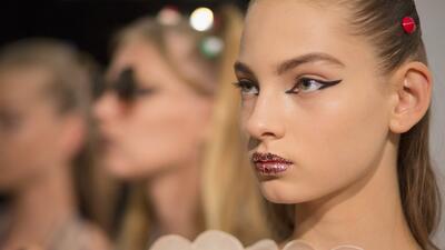 Fendi, Antonio Marras y Marni, nuestros maquillajes favoritos de Milán Fashion Week