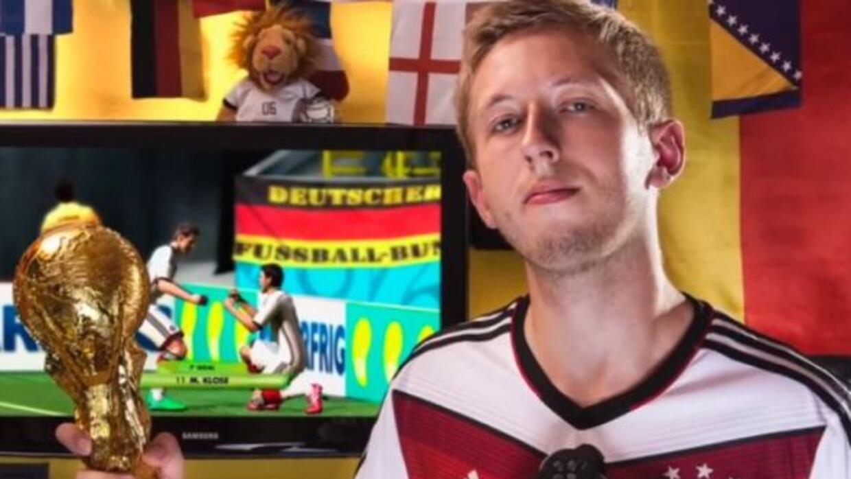 Patrick Hadler anotó 321 goles en un partido del videojuego 'FIFA World...