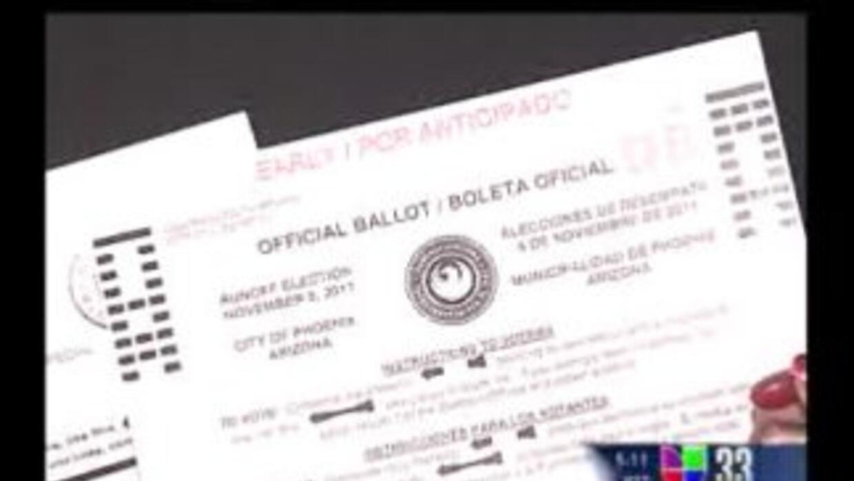 Buscan motivar el voto hispano en Phoenix