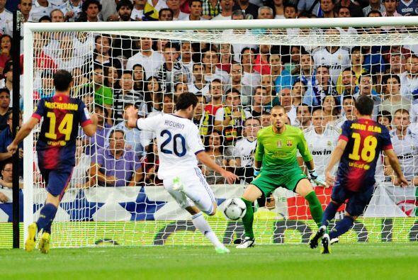 Uno de estos sirvió para que cayera el primer gol del partido, obviament...