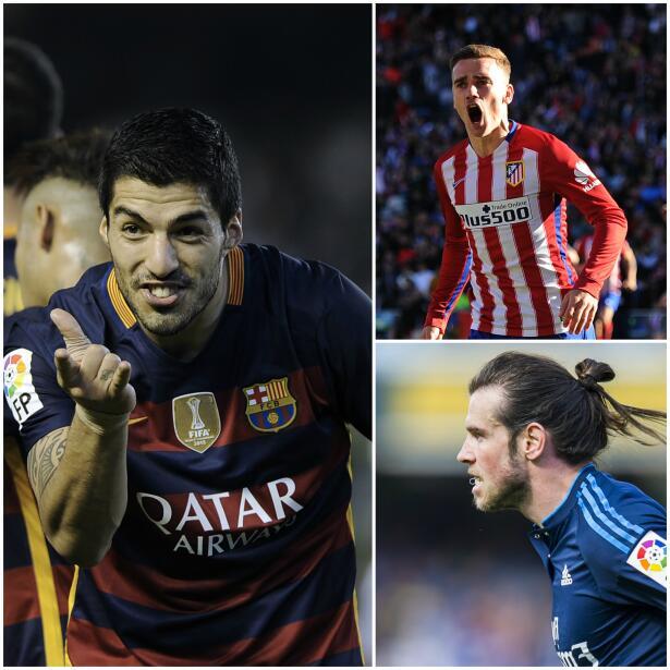 Real Madrid, Barcelona y Atlético de Madrid ganaron sus partidos...