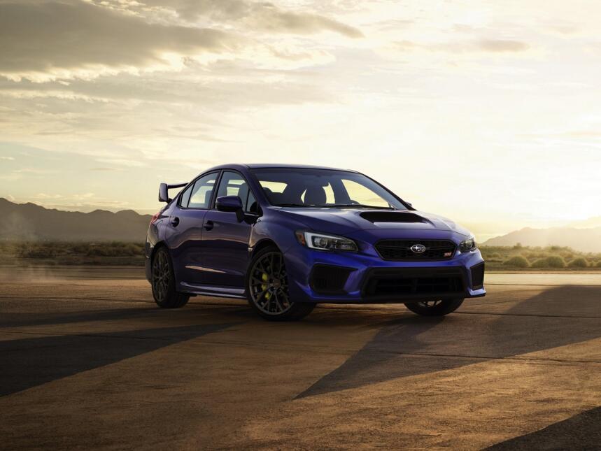 Este es el nuevo Subaru WRX STi 2018