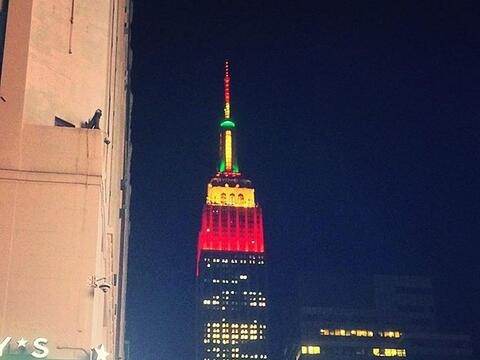 El Empire State se viste de Thanksgiving