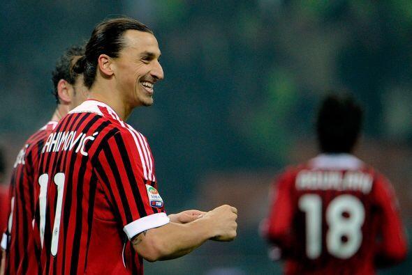 Más tarde fue el turno del goleador sueco Zlatan Ibrahimovic.