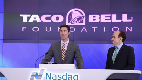 Brian Niccol, de 43 años, estuvo al frente de Taco Bell durante l...