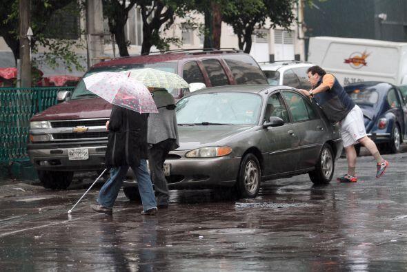 Según los pronósticos de Conagua, las lluvias continuar&aa...