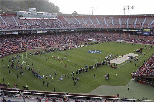 El mítico Candlestick Park, hogar de los San Francisco 49ers de 1...