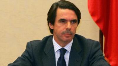 El ex presidente del gobierno español, José María Aznar.