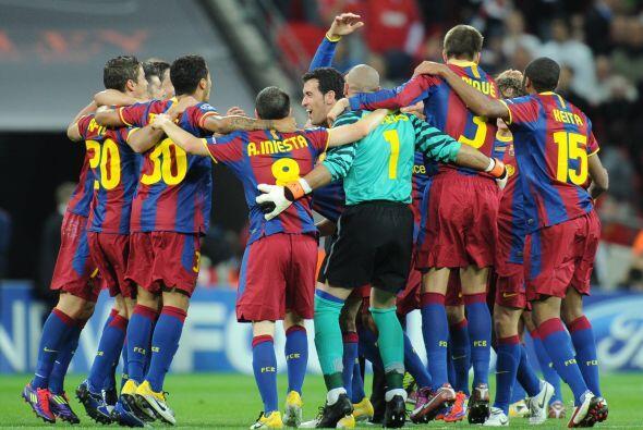 La UEFA tiene un nuevo campeón y se llama Barcelona.