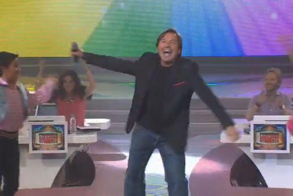 Ricardo Montaner fue el invitado especial de la cuarta gala de Peque&nti...