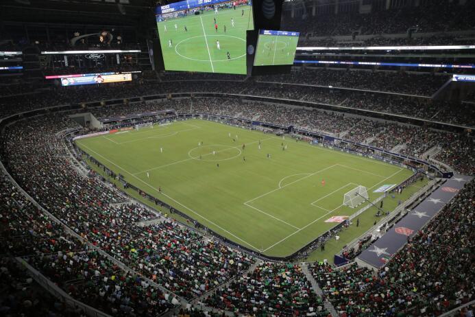 Mex vs Arg Arlington Texas
