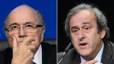 Joseph Blatter/ Michel Platini