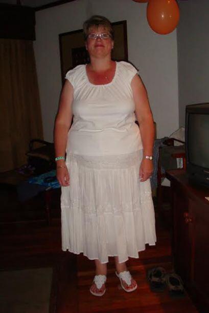Diane era talla 26 y pesaba 304 libras cuando decidió eliminar los paste...