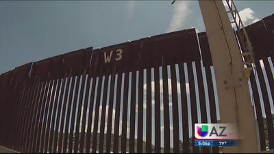 Descartan muro fronterizo por un muro virtual