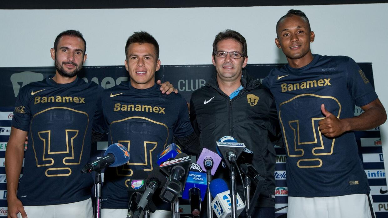 Fidel Martinez, Marcelo Alatorre y Alejandro Castro.