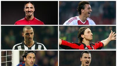 Las playeras que ha vestido Zlatan en todas sus temporadas como profesional