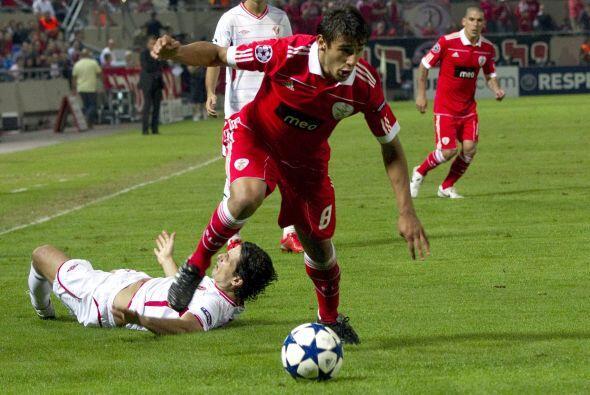 Finalmente, el Benfica se metió a la casa del Hapoel Tel Aviv.
