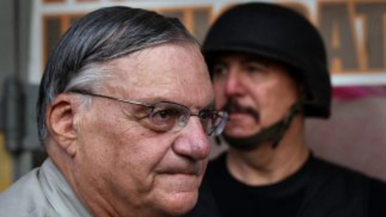 'No soy racista', le dijo el sheriff Joe Arpaio a Jorge Ramos en una rec...