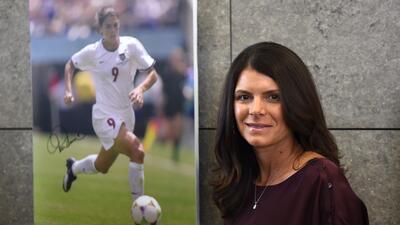 Los 45 años de Mia Hamm, 'la Pelé del fútbol femenino'